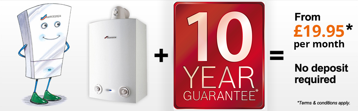 10 year guarantee your boiler with 1st call services
